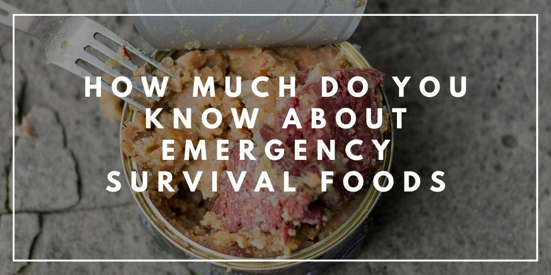 How Much Do You Know About Emergency Survival Foods_Camping High Life